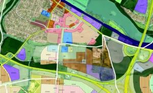 Návrh na změnu ÚP - překvalifikace využití ploch - SV-D a ZVO-E